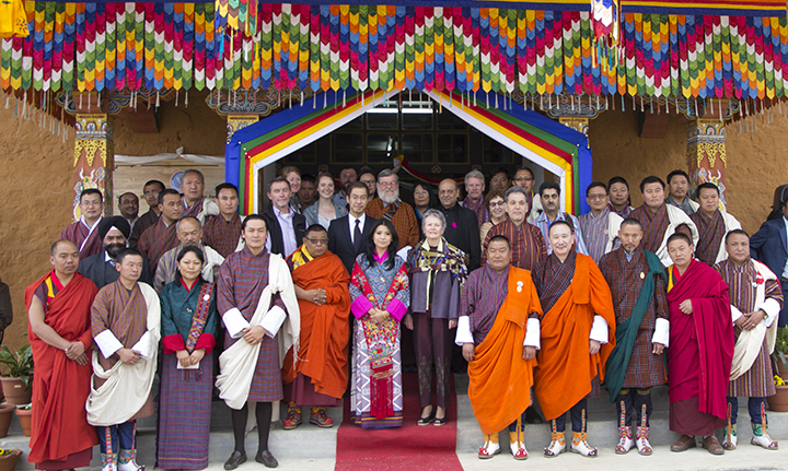MSF SAF Nepal Family with  Her Royal Hignes Ashi Chimi Yagzom Wangchuk and with Ministers