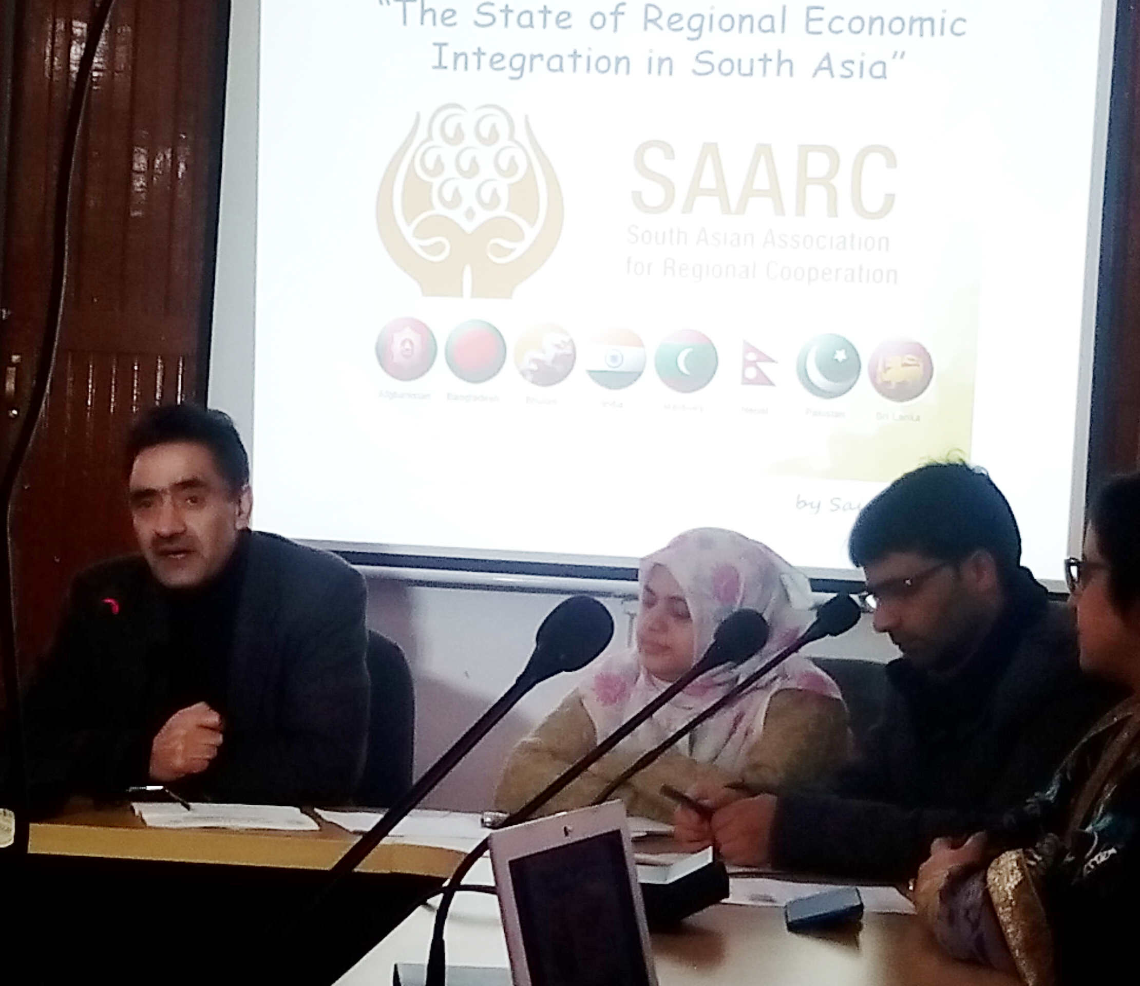 SAARC Charted Day Celebrated at UMIKS