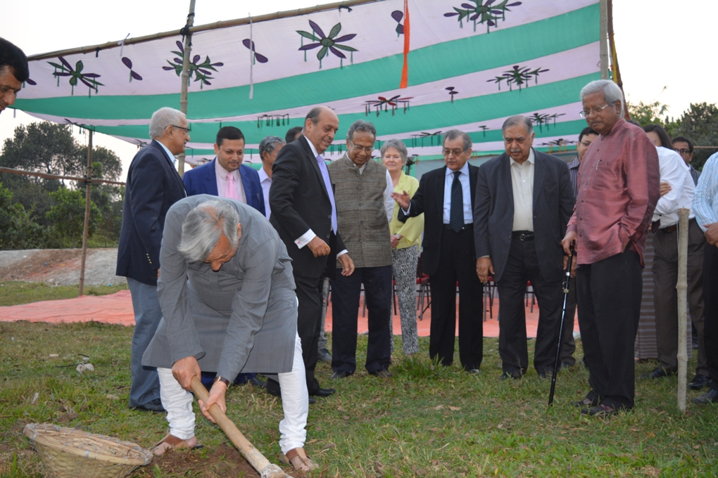 South Asia Foundation- Bangaldesh ( SAF ) Ground- Breaking Ceremony for upcoming UMSAILS- uploaded by Sunil Binjola