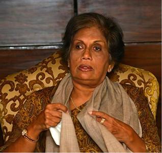 Ms Chandrika Kumartunga, Chairperson, South Asia Foundation- Sri Lanka