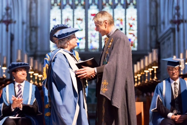 Honorary Doctorate of Bath Spa University
