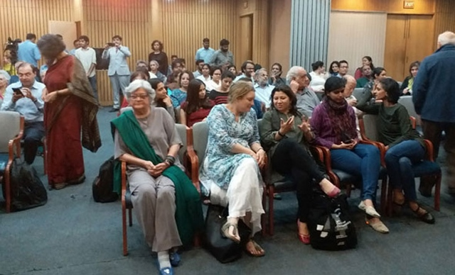 Pakistani among Indians: Salima Hashmi at the India International Centre, New Delhi
