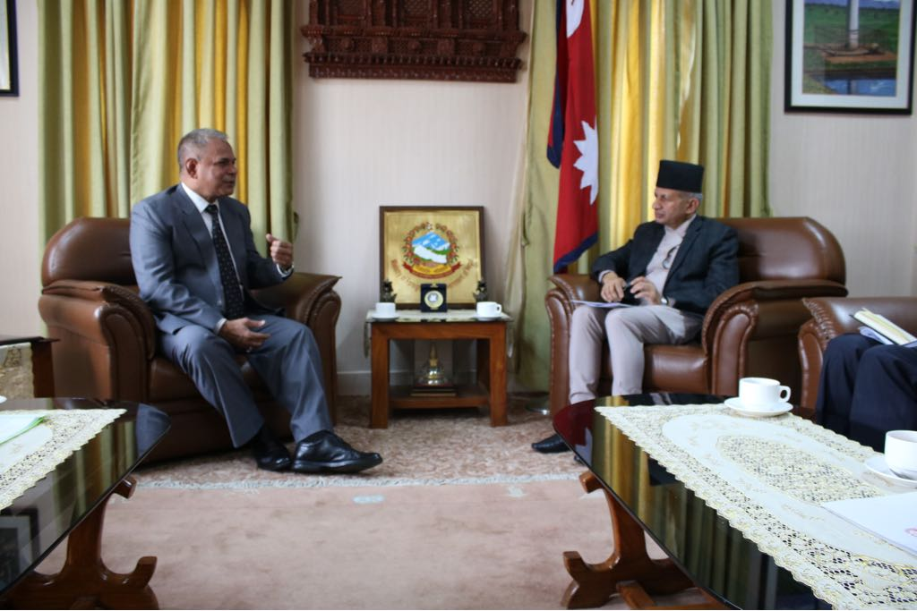 Secretary General of SAARC calls on the Foreign Minister of Nepal