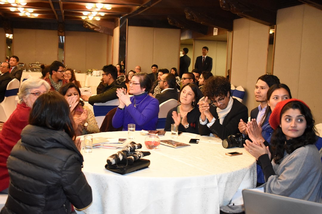 Meeting of SAF Alumni on a Dinner hosted by Dr. Nishchal Nath Pandey, Chaiperson-SAF Nepal