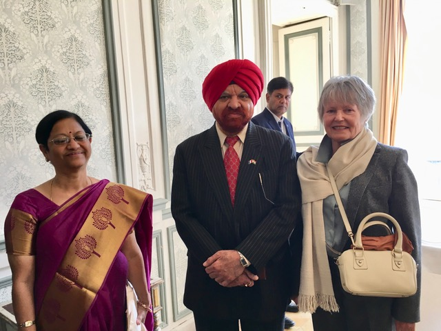 Vice Chancellor Prof Gurmeet Singh, Pondicherry University, with Prof Pierre Bonin, Vice President of Paris 1 Pantheon Sorbonne University