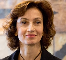 Ms Audrey Azoulay, Director-General of UNESCO,